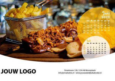 A5 Bureaukalender Food 2022