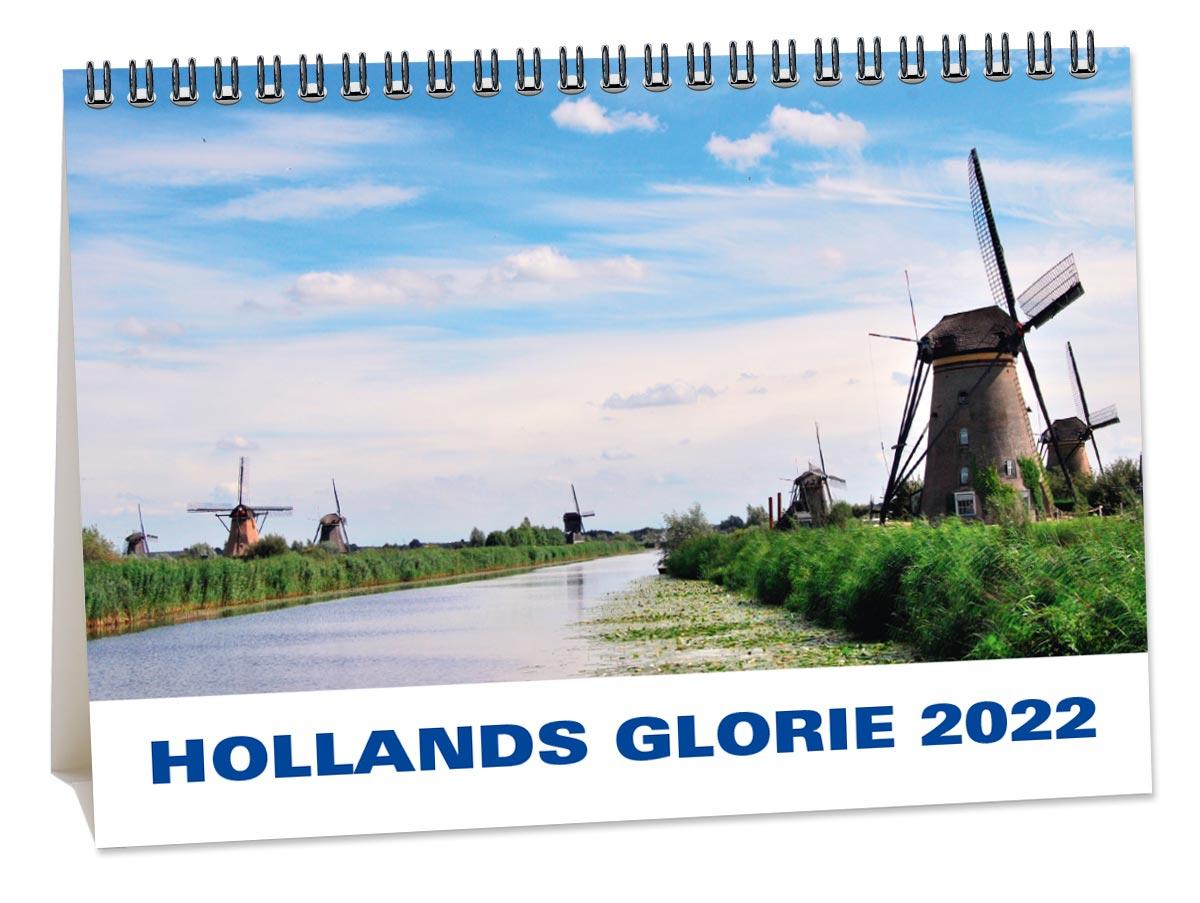 A5 Bureaukalender Holland 2022