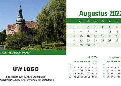 A5 Bureaukalender Kastelen 2022
