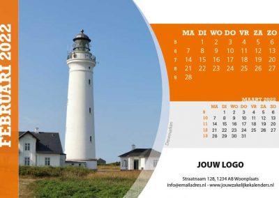 A5 Bureaukalender Tour of Europe 2022